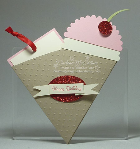 Petal Cone Bigz Die Birthday Card