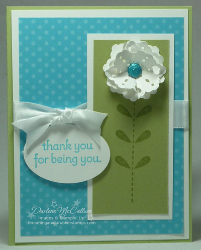 Bold Blossom Stamp Set with Doily Triple Layer Punch