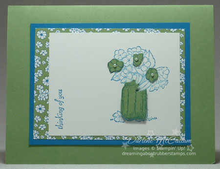 On the Grow Stamp Set card