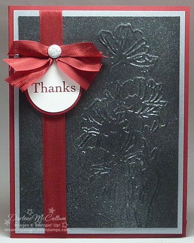 Flower Garden Textured Impressions Embossing Folder