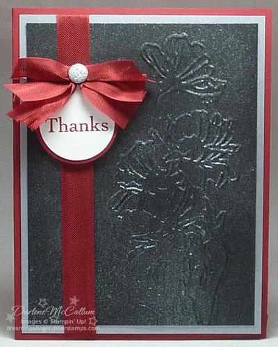 Flower Garden Textured Impressions Embossing Folder