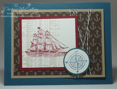 The Open Sea Stamp Set Card