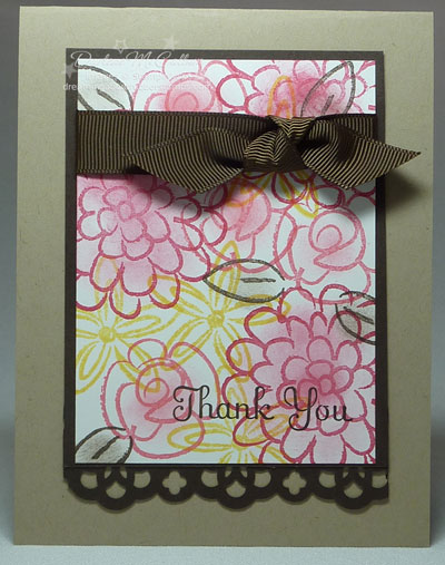 Flower Fest Stamp Set Card