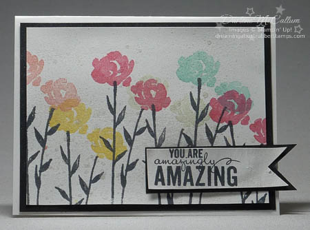 Painted Petals Smooch Spritz Card