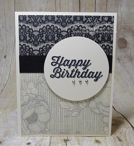 Stampin Up Perfect Pairings Stamp Set and Timeless Elegance Paper