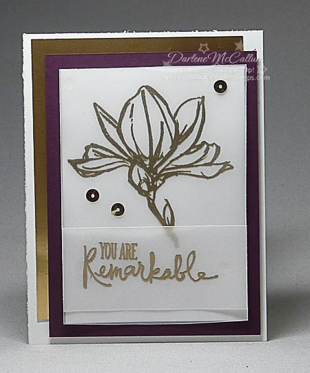 Remarkable You Gold Card