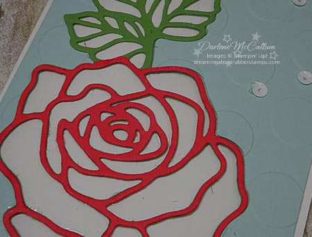 Rose Garden Thinlits from Stampin Up