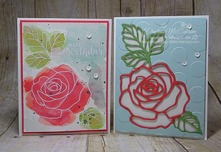 Rose Wonder Bundle from Stampin Up