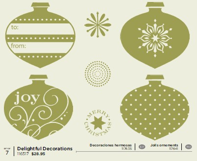 Stampin' Up! Delightful Decorations