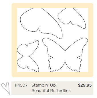Stampin Up Beautiful Butterflies