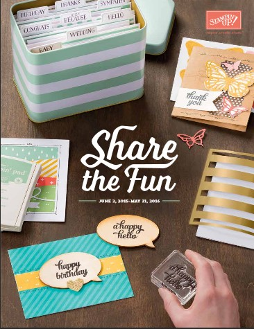 Stampin' Up! Canada 2015-2016 Catalogue