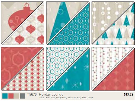 Stampin Up Holiday Lounge