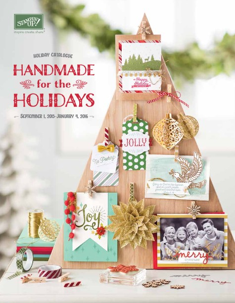 Stampin' Up! Canada 2015 Holiday Catalgue