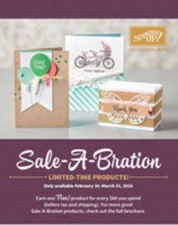 Stampin Up Canada Saleabration Brochure 2