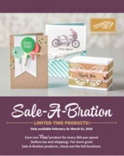 Stampin Up Canada Saleabration Brochure 2