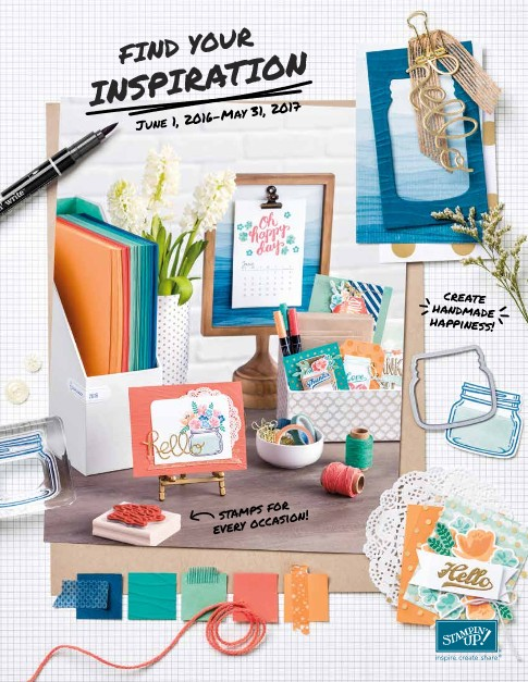 Stampin' Up! Canada 2016-2017 Catalogue