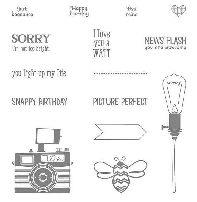 Pun Intended Stamp Set Images