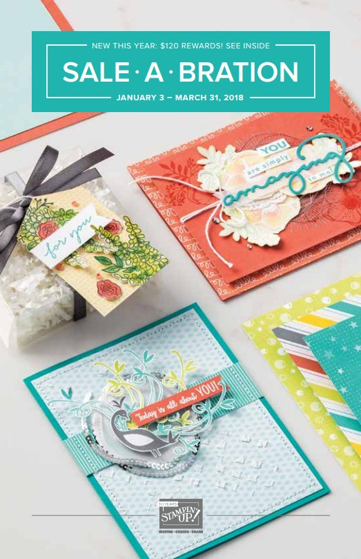 Sale-a-bration 2018 Stampin Up Canada