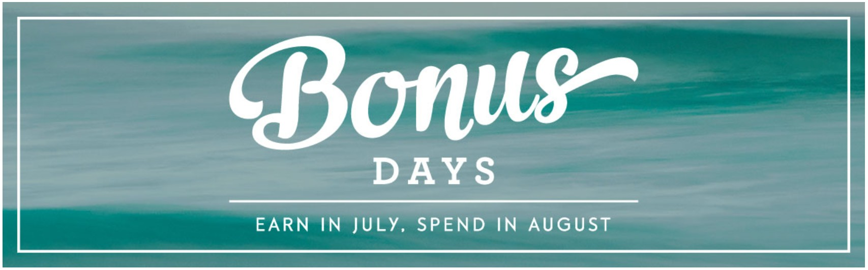 Stampin' Up! Canada Bonus Days