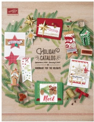 Stampin Up Canada 2016 Holiday Catalogue