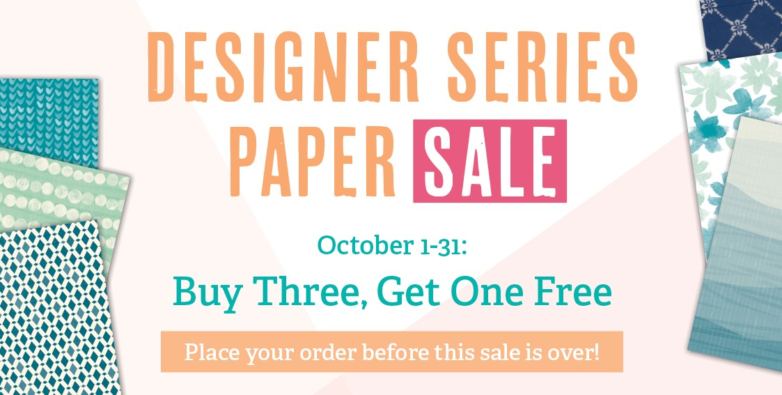 Stampin Up Canada Designer Series Papr Sale