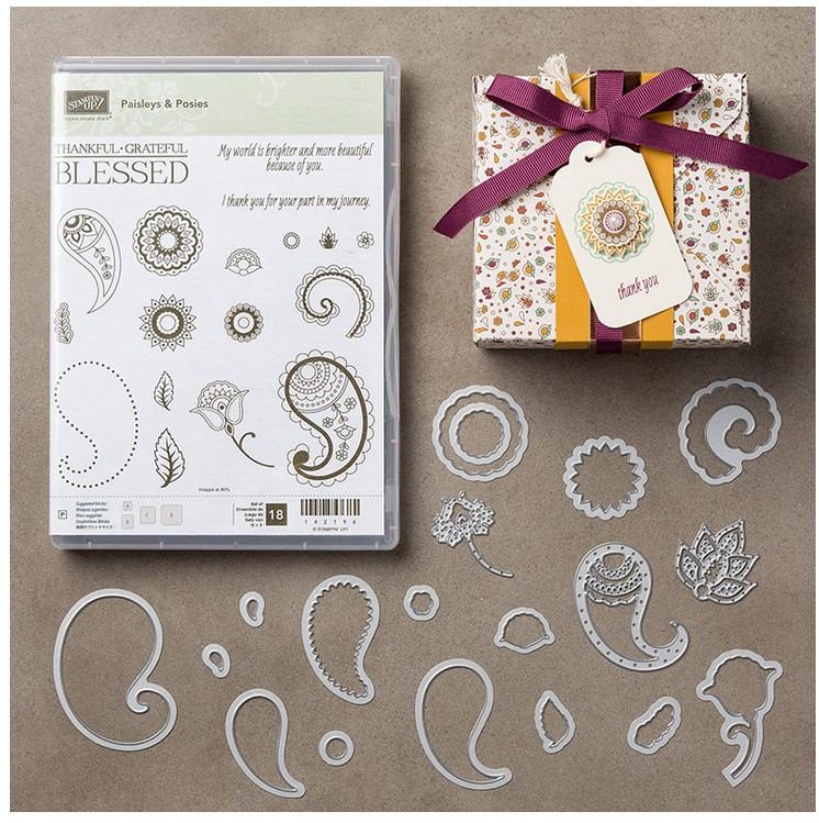 Paisleys & Posies Bundle