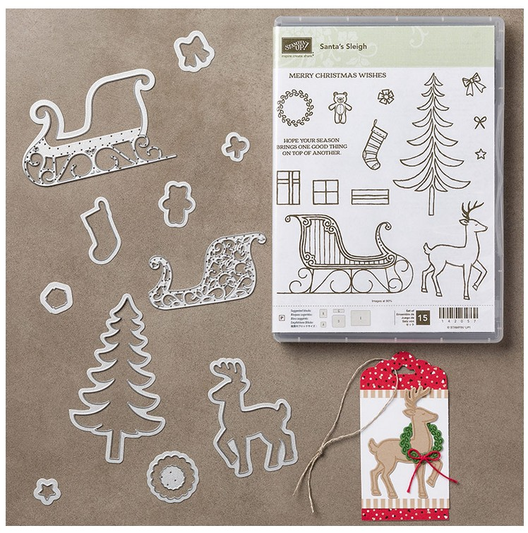 Santa's Sleigh Photopolymer Bundle