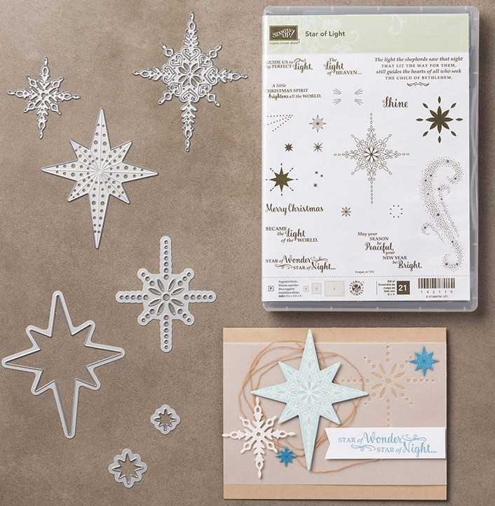 Star of Light Bundle by Stampin Up