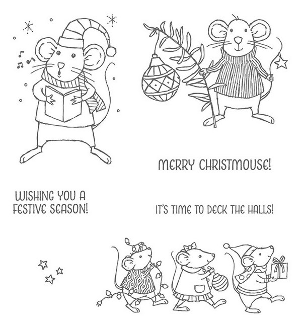 Merry Mice Stamp Set by Stampin' Up!