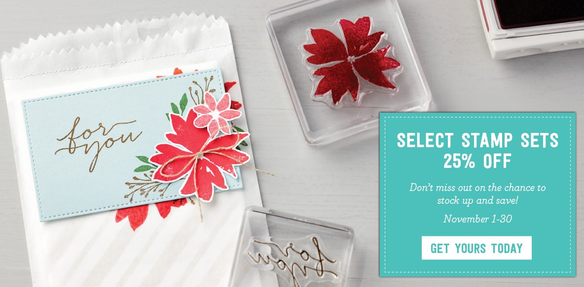 Save 20% on Stamp Sets Promotion