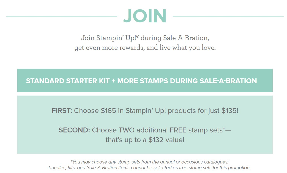 Be a Stampin up Demonstrator