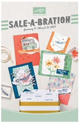 Sale-a-Bration 2017 Stampin Up Canada