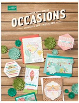 Stampin Up Canada Occasions Catalog 2017