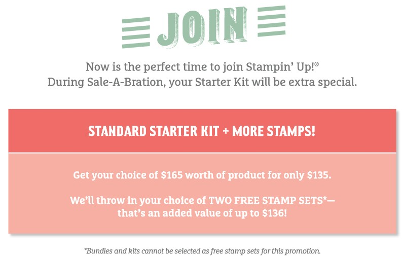 Be A Stampin' Up! Demonstrator - Join Today