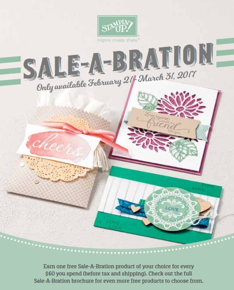 Sale-a-Bration 2017 Second Release