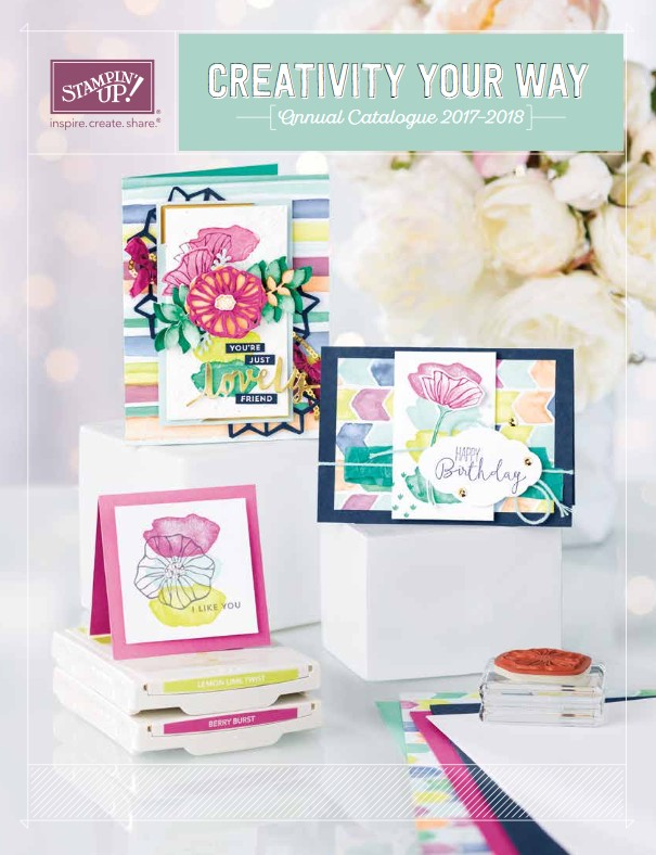 Stampin' Up! Canada 2017-2018 Annual Catalogue