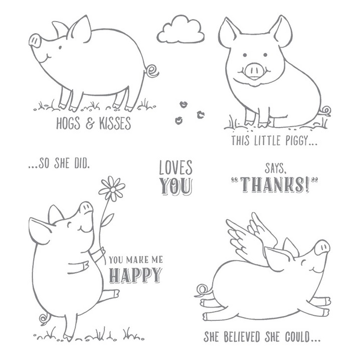 Stampin' Up!'s This Little Piggy Stamp Set