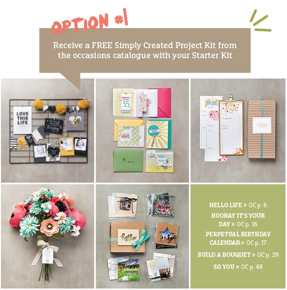 Stampin up tarter kit