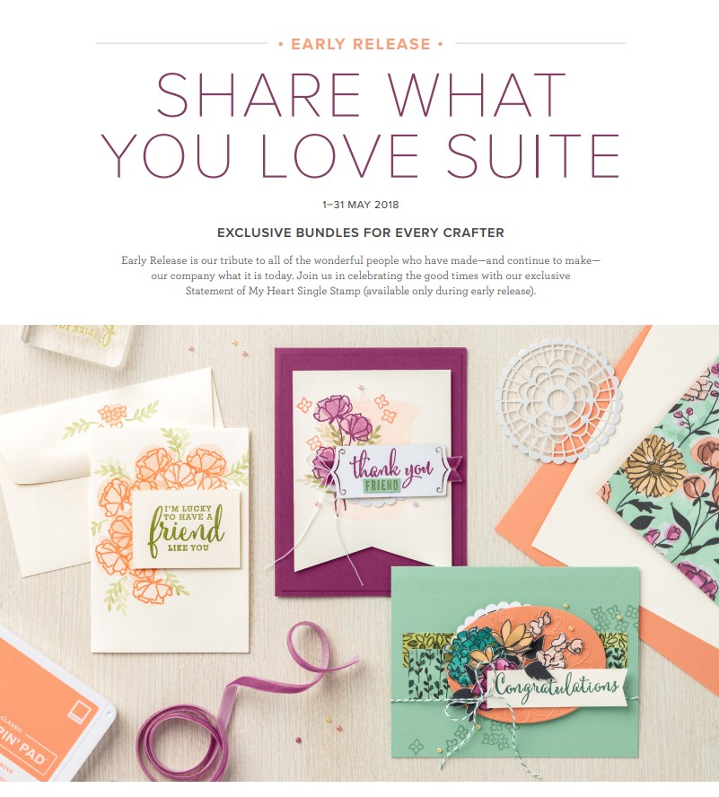 Share What You Love Brochure