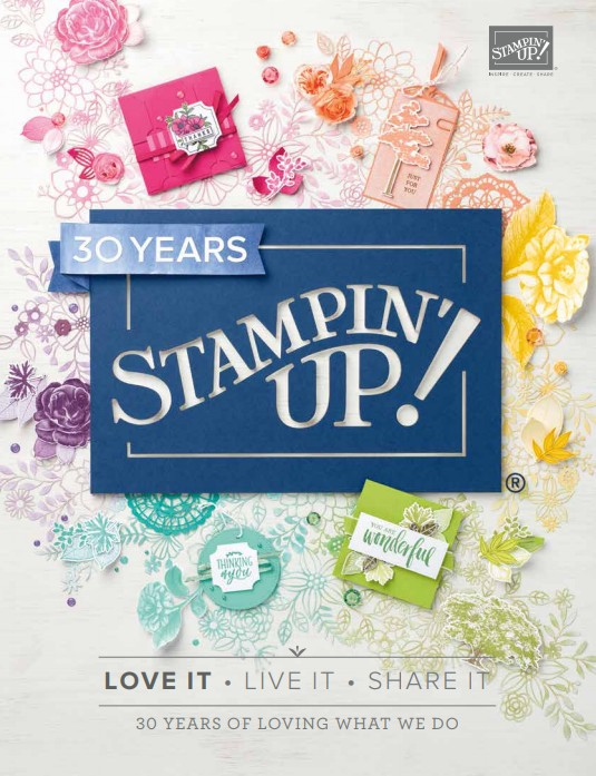 Stampin Up Canada Annual Catalogue 2018-2019