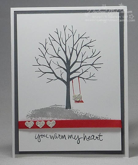 Sheltering Tree with hearts