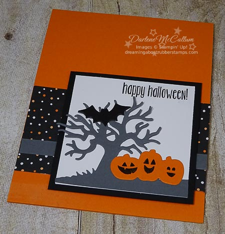 Stampin Up Spooky Farm