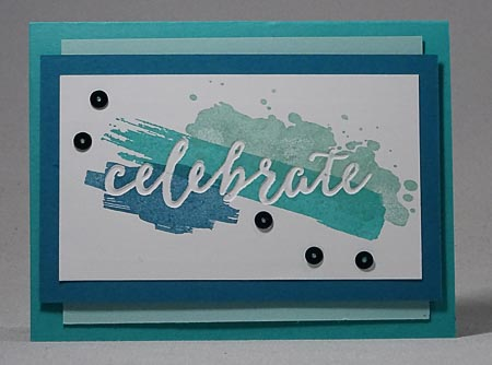 Stampin Up Celebrations Duo Card