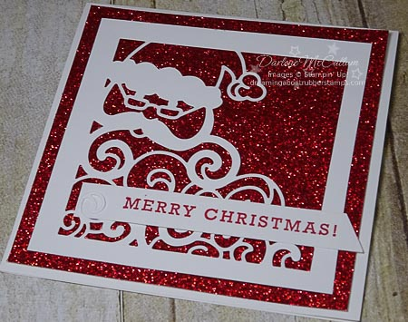 Detailed Santa Thinlits by Stampin' Up!