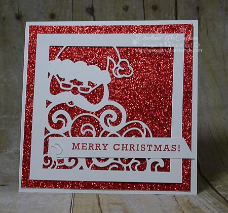 Detailed Santa Thinlits with Greetings from Santa Stamps