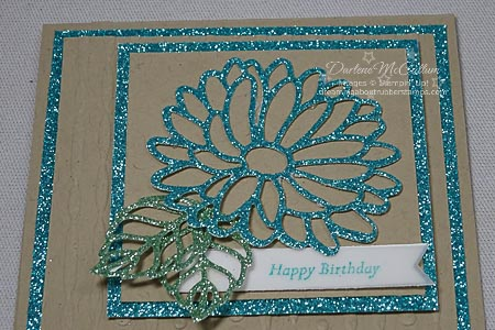 Stampin Up Special Reason Glimmer Card