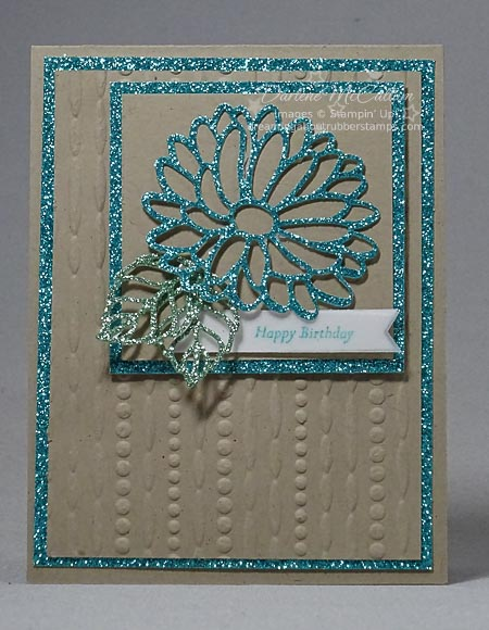 Stylish Stems Glimmer Paper Card