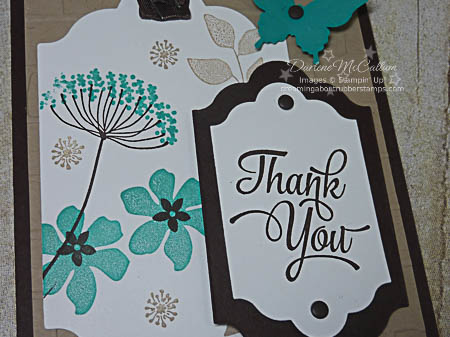 Summer Silhouettes Tag Card with Lots of LAbels Framelit