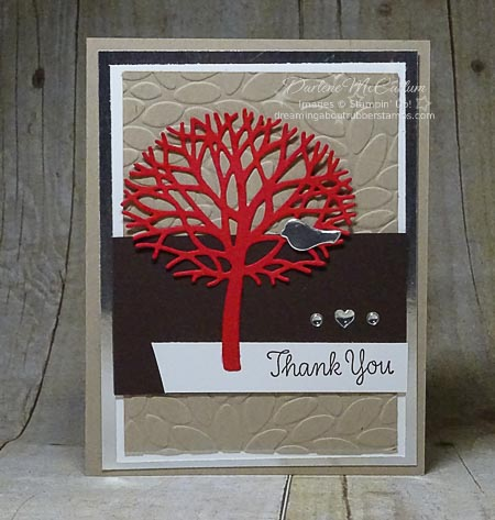 Stampin Up Thoughtful Branches Tree
