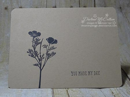 Stampin Up Wild about Flowers